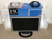 """19"""" Wide TFT LCD Monitor (16:9, 1440x900)"""