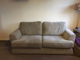 3 seater fabric sofa- Less than a year old from DFS