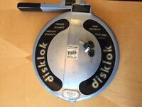 Disklok steering wheel lock x3 keys
