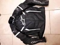 Men's alpinestars motorcycle jacket size 54