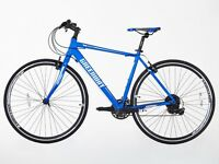 Brand New Hi-spec BIKES Road Bike Two Colours (White & Blue) for SALE JUST FOR £155 NEW