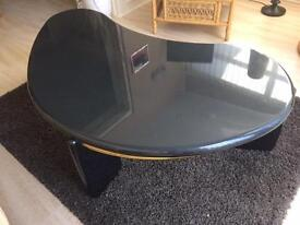 Kidney shape coffee table