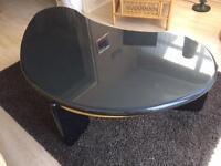 Kidney shape coffee table