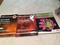 OCR CHEMISTRY A LEVEL STUDENT STUDY BOOKS