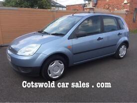 2006 55 1.2 Fiesta 5 door rare 1.2 46000 miles! 9 service stamp!s,no advisories mot,unmarked cond