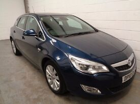 VAUXHALL ASTRA , 2010 REG , ONLY 43000 MILES + HISTORY , **£500 OFF** , YEARS MOT, FINANCE, WARRANTY