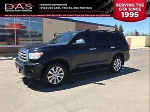 2008 Toyota Sequoia LIMITED 5.7L V8 LEATHER/SUNROOF/8 PASS