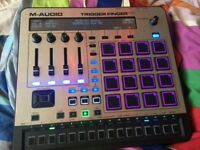 M-audio trigger finger pro great condition