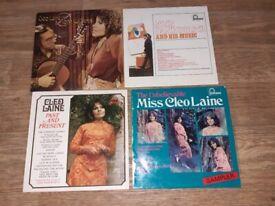 4 x cleo laine john dankworth vinyl LPs