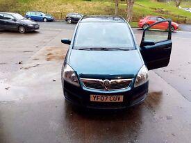 Vauxhall zafira (7 seater )