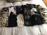Very large bundle of women's tops 8-10