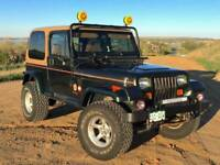 Jeep wrangler yj parts wanted