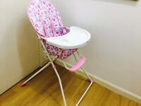 Red Kite Feed Me Compact Highchair