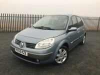 2006 55 RENAULT SCENIC PRIVILEGE 1.6 - *ONLY TWO FORMER KEEPERS* - LOW MILGEAGE - GOOD EXAMPLE!