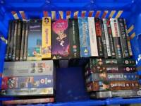 DVD box sets including.rare, deleted, uncut,and new