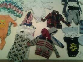 Boys clothes Newborn - 0-3 Months