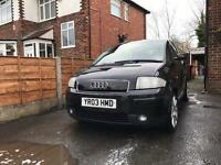 Audi A2 1.6 FSI SPORT RED LEATHER
