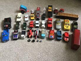 Range of various diecast, trucks, cars, etc, etc.