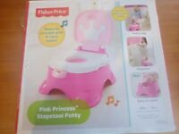 Fisherprice Pink Stepstool Training Potty