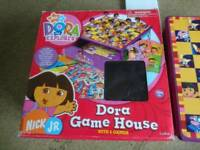 Dora the explora game house set 8 games