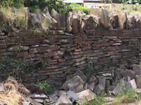 Drystone bricks