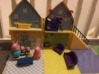 Peppa pig play house