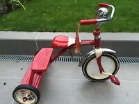 Radio Flyer 12-inch Classic Dual Deck Trike / Tricycle / Bike / Bicycle (Red)