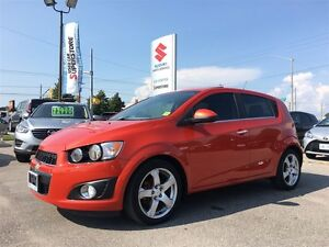 2012 Chevrolet Sonic LT ~P/Sunroof ~Fuel-Efficient ~Top Safety S