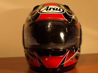 FOR SALE ARAI ASTRO-R MOTORCYCLE HELMET WITH PIN-LOCK SIZE L 59-60CM