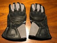 REVIT! Leather motorcycle gloves, with knuckle protection, preowned in excellent condition XL 8-9