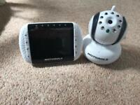 Motorola baby minitor