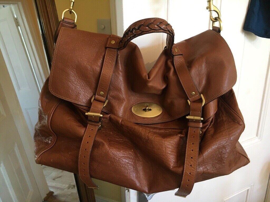 adcad178ed0d 100% Genuine Mulberry Oversized Alexa Bag