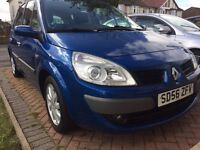 Renault SCENIC 2006 low mileage blue f/s/h