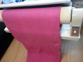 Cordes 834 ironing machine, foldable, 85cm roll