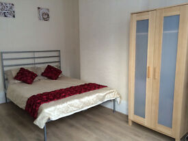 1 Large Double room in Clean and Quiet house < 1 MINUTE to Turnpike Lane Tube Zone 3