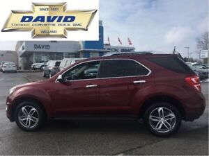 2016 Chevrolet Equinox PREMIER LTZ AWD, ROOF, NAVIGATION, LEATHE