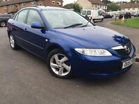 2004 Mazda 6 TS-2, with sun-roof, 12 months MOT, 84k Only!!!