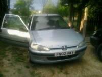 Peugeot 106 drive away