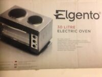 ELGENTO 30 LTR ELECTRIC OVEN WITH TWO HOT PLATES