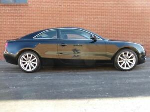 2010 Audi A5 6 SPD -- BLACK ON BLACK -- A.W.D