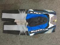 """Xtreme Motorcross Bottoms in very good used condition size 36"""" waist"""