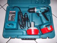 MAKITA CORDLESS DRILL DRIVER WITH 2 BATTERIES BRAND NEW & BOXED