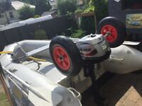2.9 INFLATABE BOAT WITH 3.5 MARINER4 STROKE
