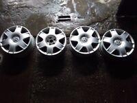 Alloys VW GOLF BORA (5 STUD) BBS ALLOY WHEELS 6.5JX16 - VW AUDI SKODA