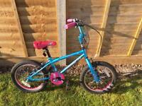 """Girls 16"""" bike in great condition only used for 6 months"""