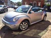 Volkswagen Beetle 1.9 TDI Cabriolet 2Dr. 12 months mot. Not modified. Replica. Classic.