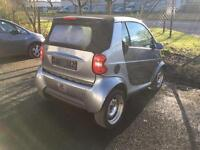 Smart Car Fortwo 450 Convertible Cabrio Facelift LHD 56k