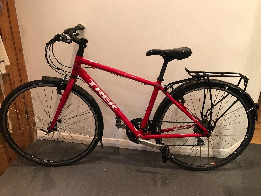 Trek 7 2 Fx 2015 Hybrid Bike Red 17 5in Frame In Kennington