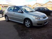 2005 TOYOTA COROLLA 1.4 VVT-I COLOUR COLLECTION 12 MONTHS MOT FSH POLO GOLF ASTRA CORSA A3 AVENSIS