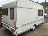Swift Celeste 13/2 1993 2 berth caravan (rare) only manufactured for two years